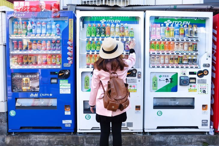 We want foreigners visiting Tokyo to know! Japanese vending machines are amazing!