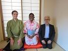Mr.Borubotei Ikeya & Miss.Reina  Interview